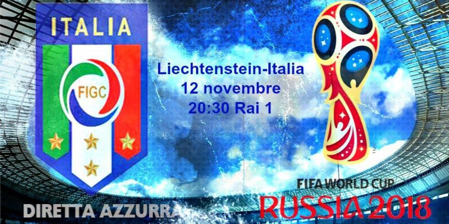 Liechtenstein ITALIA in Diretta Rai TV e Streaming Gratis su RAI Online