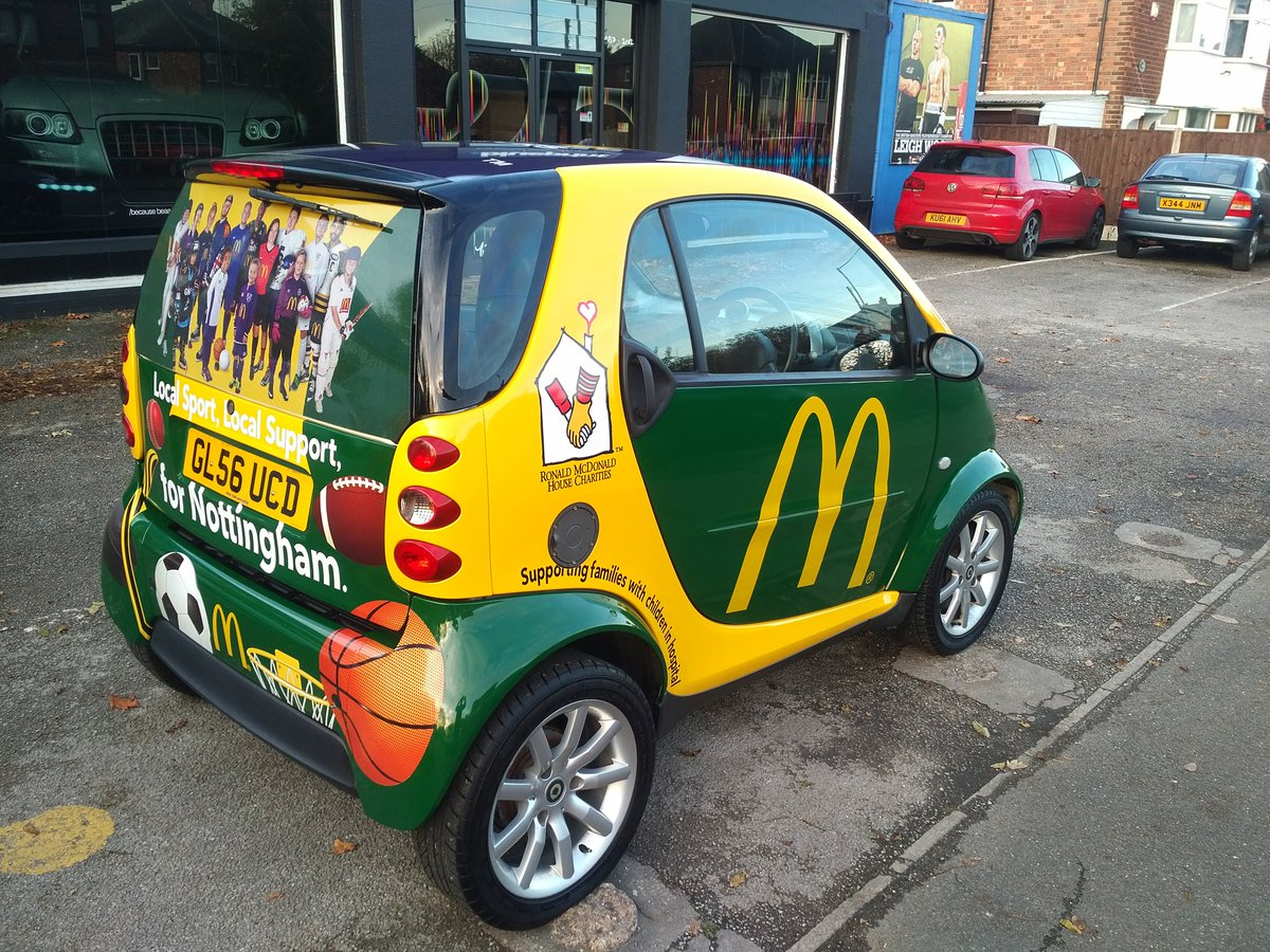 Richard monk blueprintnotts twitter blades mcdonaldsuknews car ready to hit the road thanks to blueprintnotts tkjoclark who are simply the best in nottingham malvernweather Choice Image