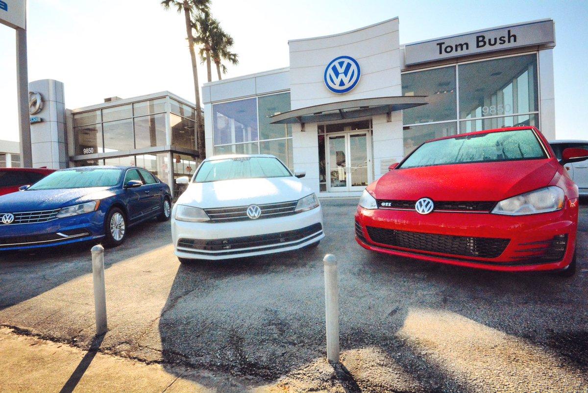 Tom Bush Volkswagen - Jacksonville, FL New and Used Volkswagen Dealer Serving Orange Park, Saint Augustine, Riverside & Lakeside