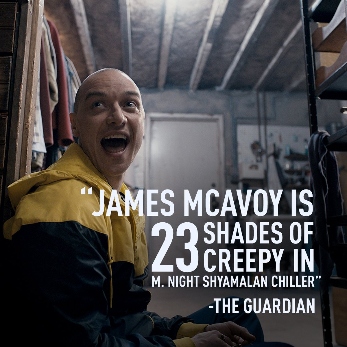 Multiple personalities, one terrifying vision by @MNightShyamalan. #Split opens this January.