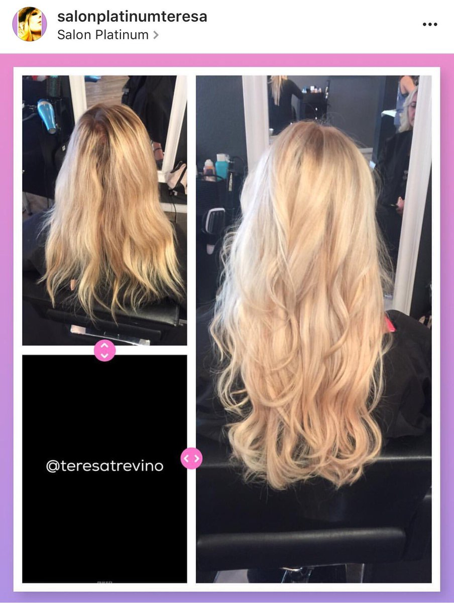 Teresa Trevino On Twitter Greatlengths Cold Fusion Hair Extensions