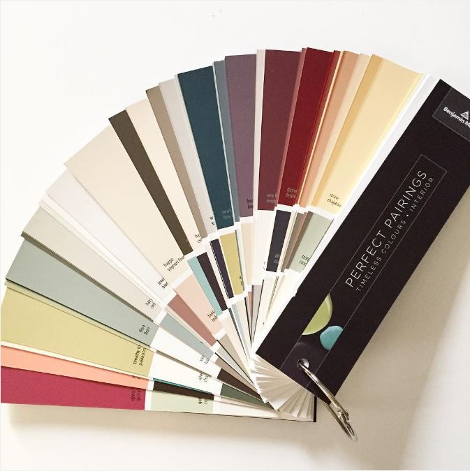 Get A Complimentary Benjamin Moore Contractor Fan Deck Contact Rep