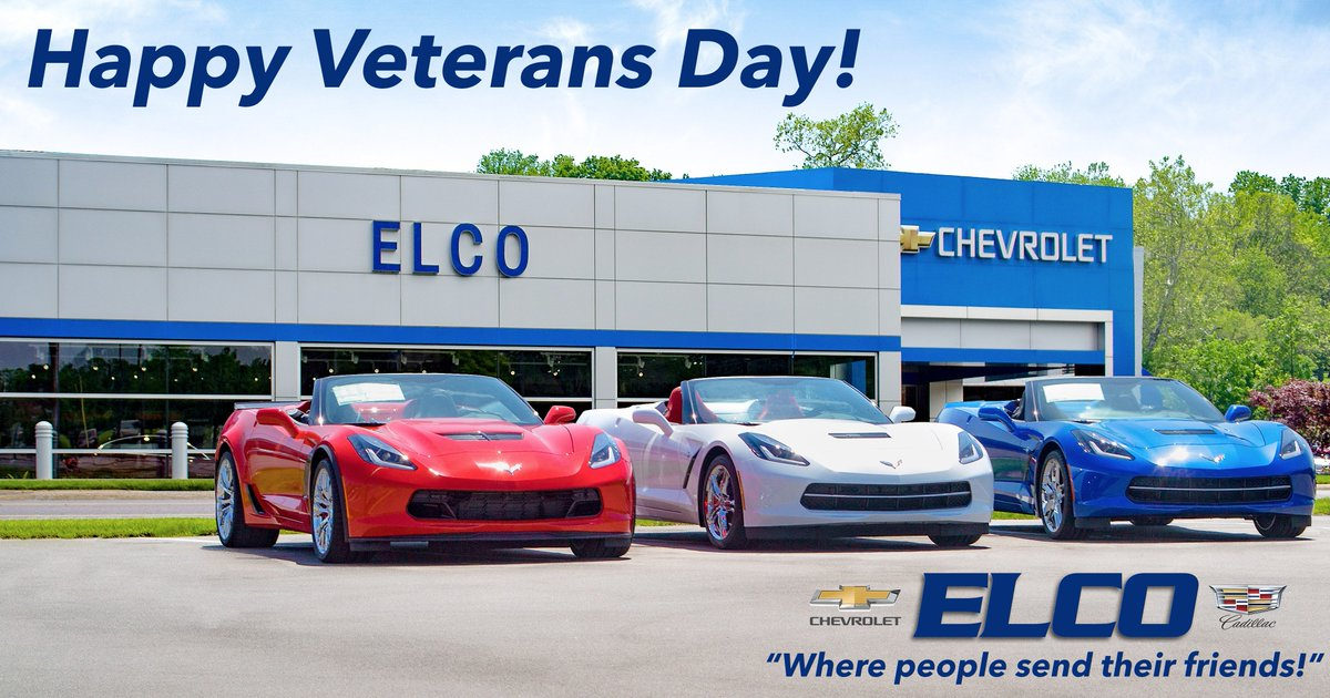 Elco Chevrolet On Twitter All Of Us At Elco Would Like To