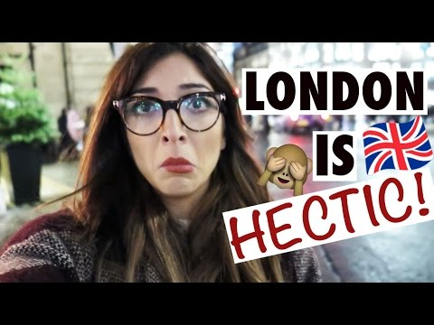 LONDON IS HECTIC! Vlogmas Day 17 Amelia Liana LoveYaAmelia MakeUp Beauty -