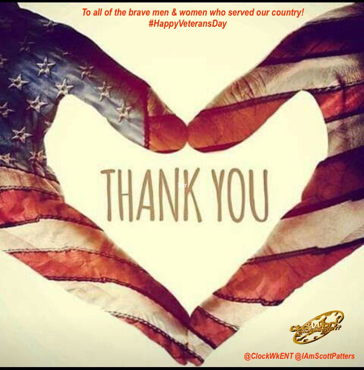 To all of the brave men & women who served our country!  #HappyVeteransDay https://t.co/jwCqnh3vIi