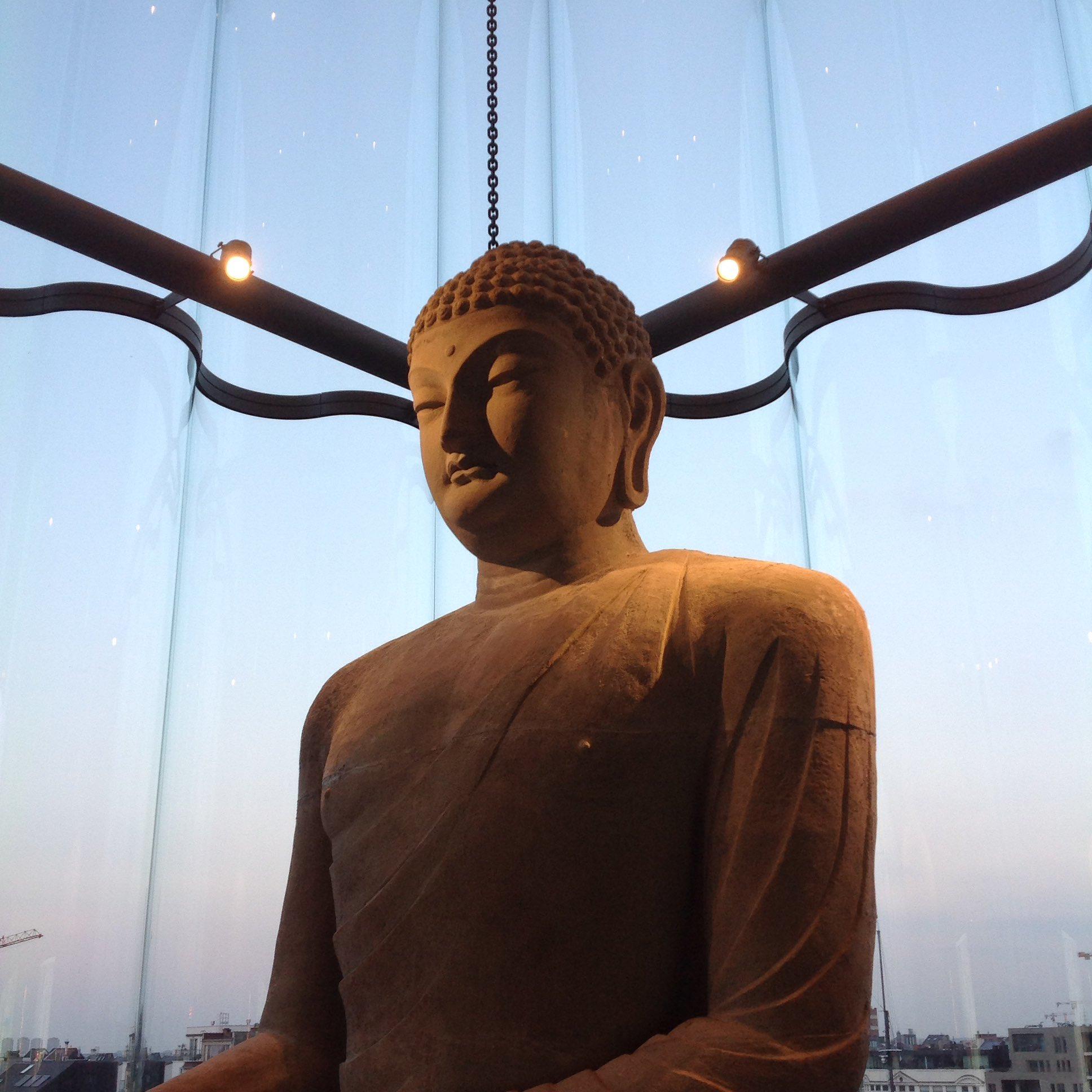 #oclock The plenary is coming but Buddha keeps us zen #museomixBE #museomix16 https://t.co/nIptftbnYt