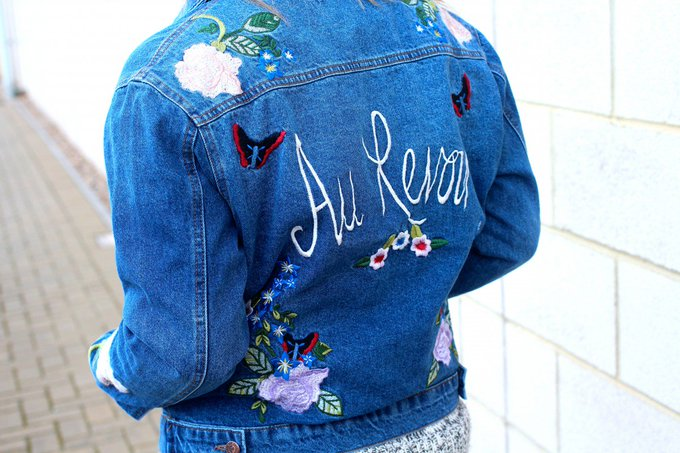 My favourite autumn denim jacket from NewLookFashion - fbloggers ootd autumn