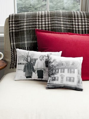 You can personalize your pillows with this diy project. crafty