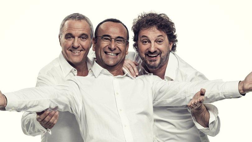 """I Big del Festival di Sanremo 2017 a """"Sarà Sanremo"""" con Carlo Conti."""