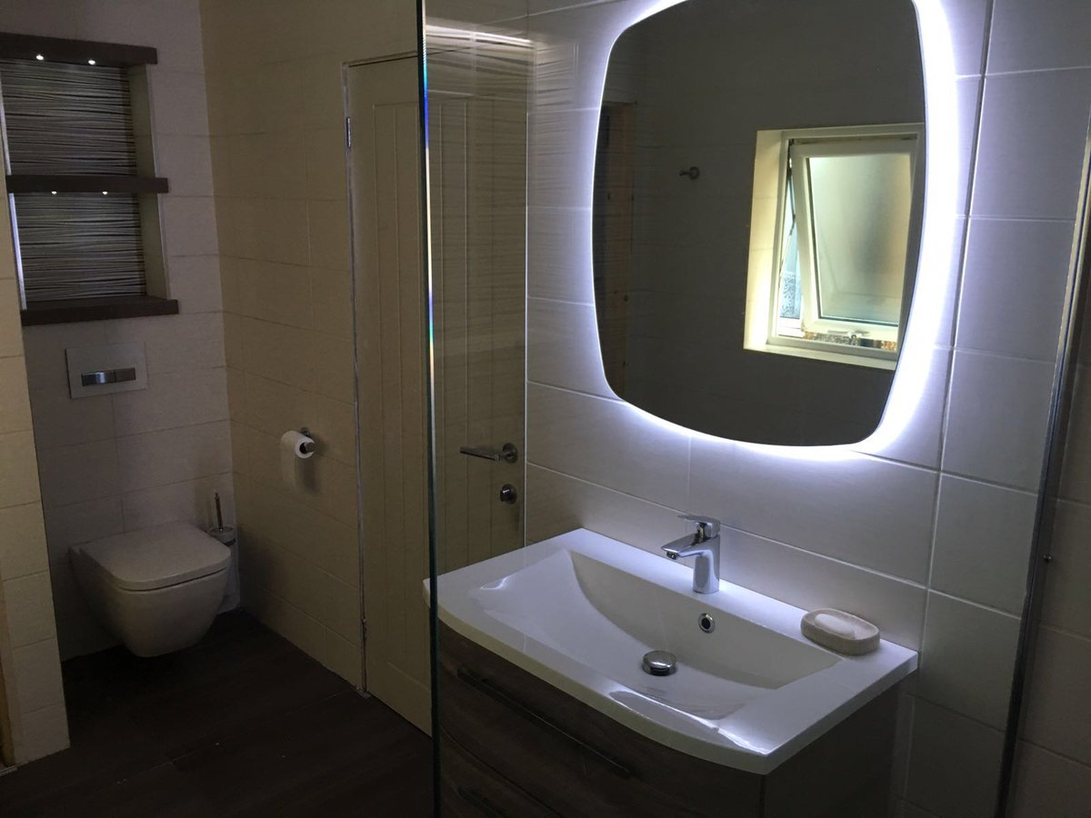 weve just finished this lovely bathroom installation we hope you are pleased with the results mr amp mrs harper amp thank youpictwittercom domddcknxu: architecture bathroom toilet