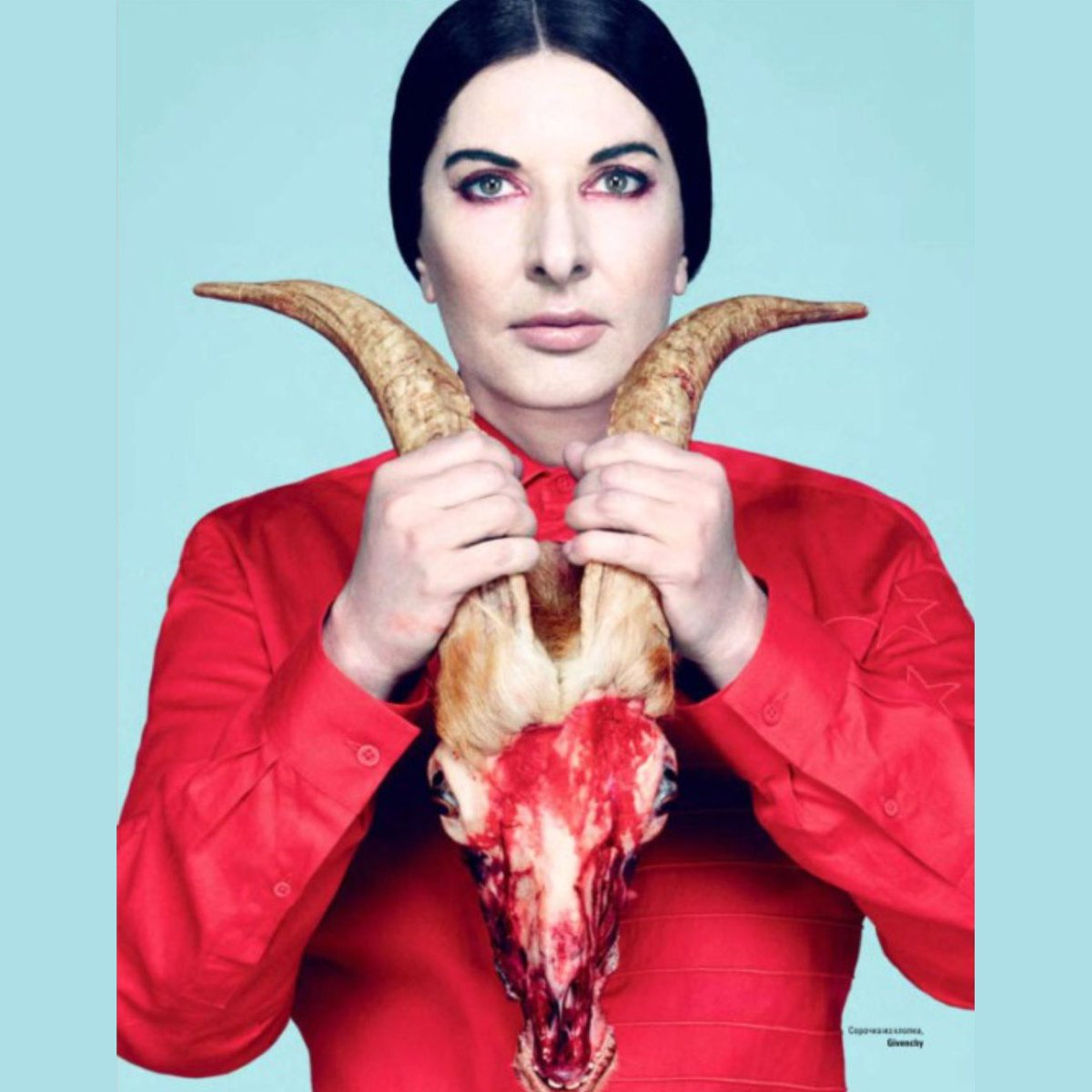 There's Experimental Art. Then there's Satanism. [re Marina Abramovic]