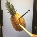 アップルペンで描いたペンパイナップルが上手すぎて、ビビる!