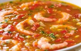 Corn and Shrimp Soup