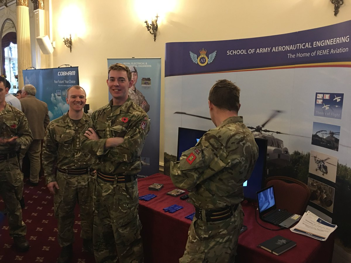 REME On Twitter 7 Avn Sp Bn At The AeroSociety Careers In Aviation Live LondonMeeting And Inspiring Next Generation CiALive 7aviation