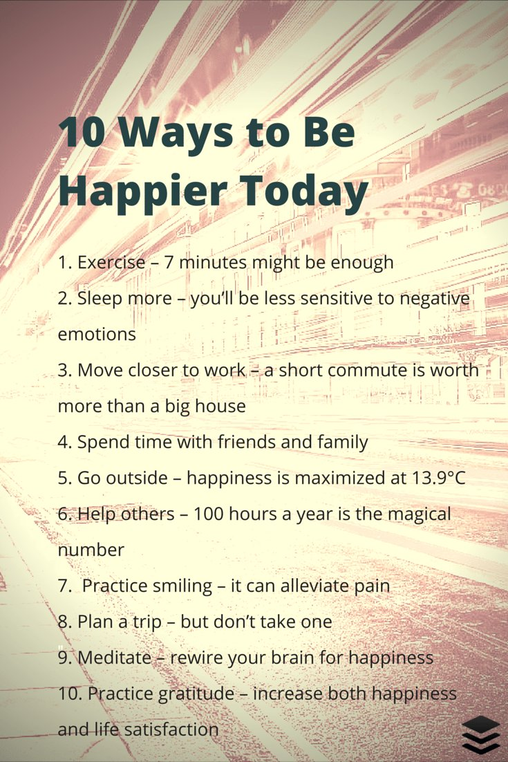 Happiness Now! 30 Ways to Feel Good!