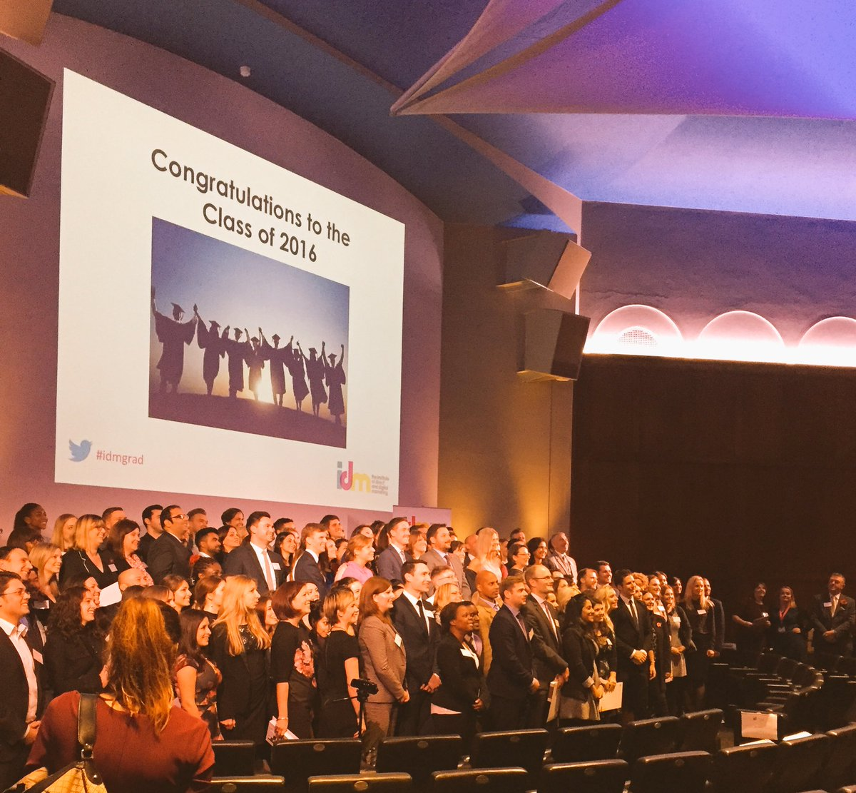 Congratulations to the class of 2016! #idmgrad https://t.co/NjV4OpIgEl