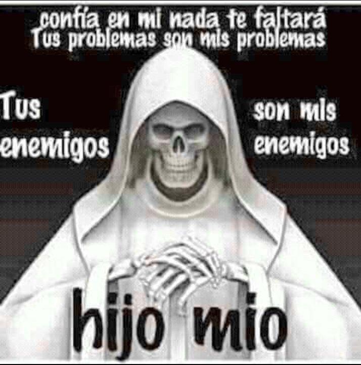 La Santa Muerte Santamte Twitter