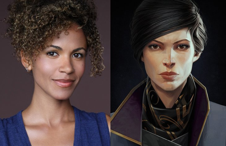 erica luttrell behind the voice actors