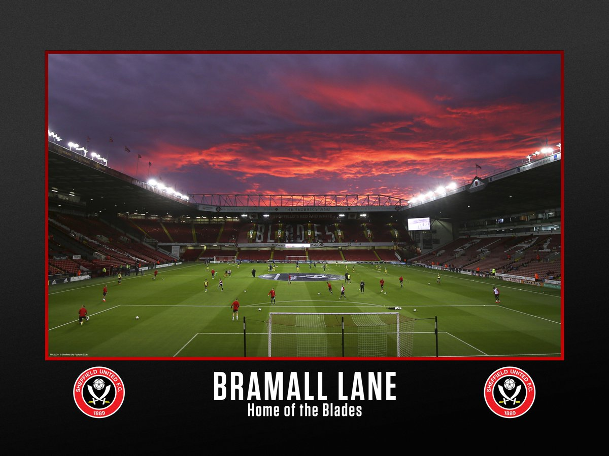 Sheffield United Bramall Lane Stadium Print
