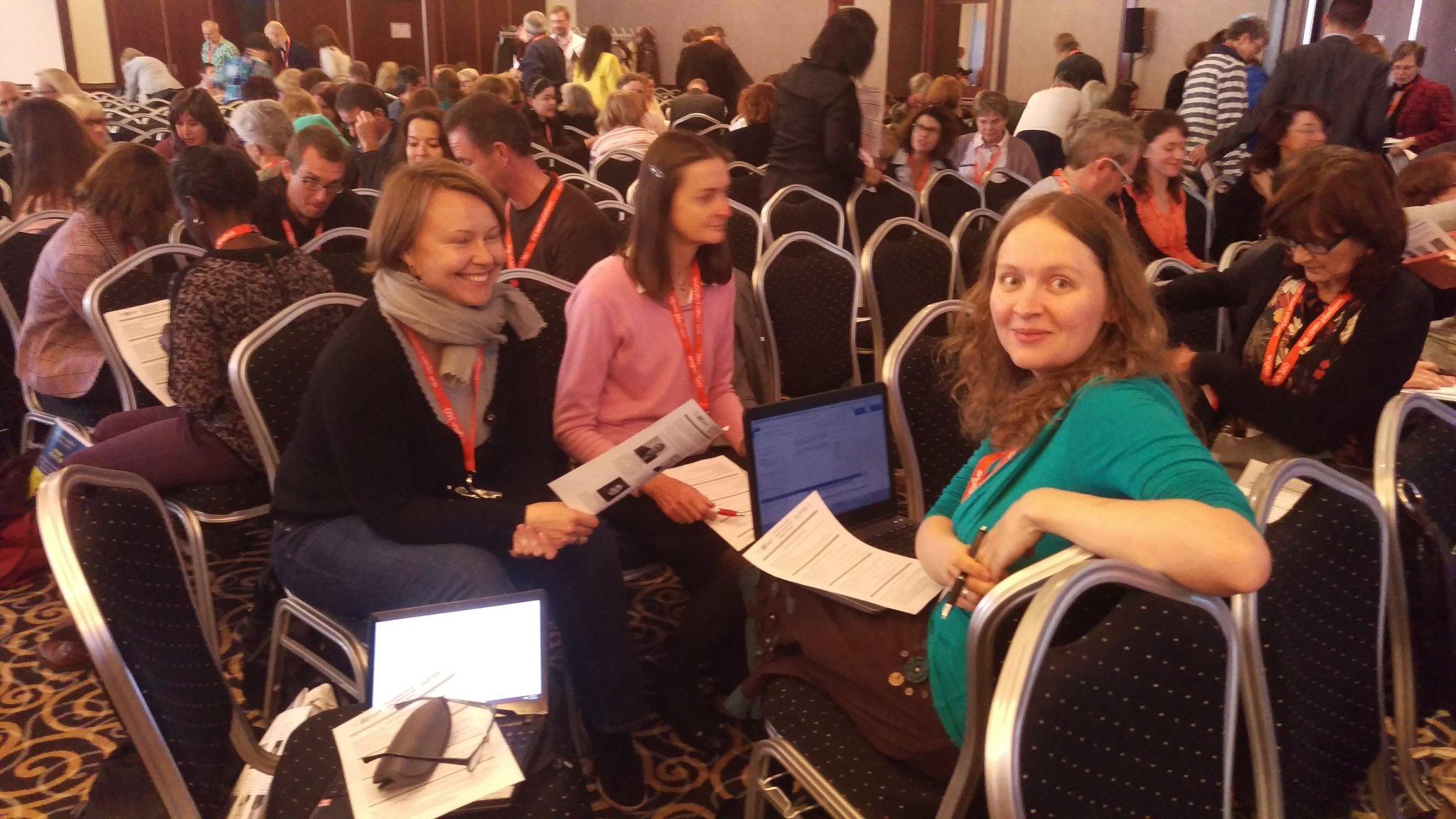 Woking in groups #IATEFL #BESIG Annual Conference #MAWSIG @MaWSIG https://t.co/OwGbaqHxXA