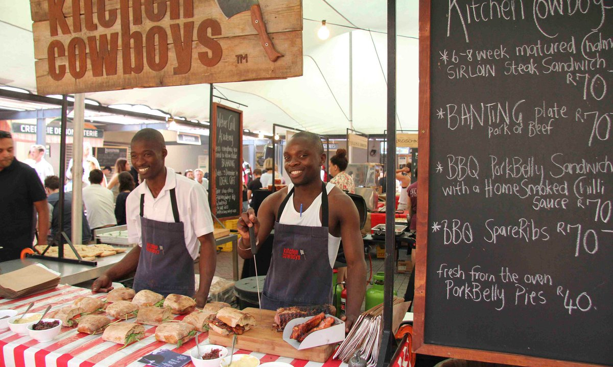 Image result for cape town food in the street with fun