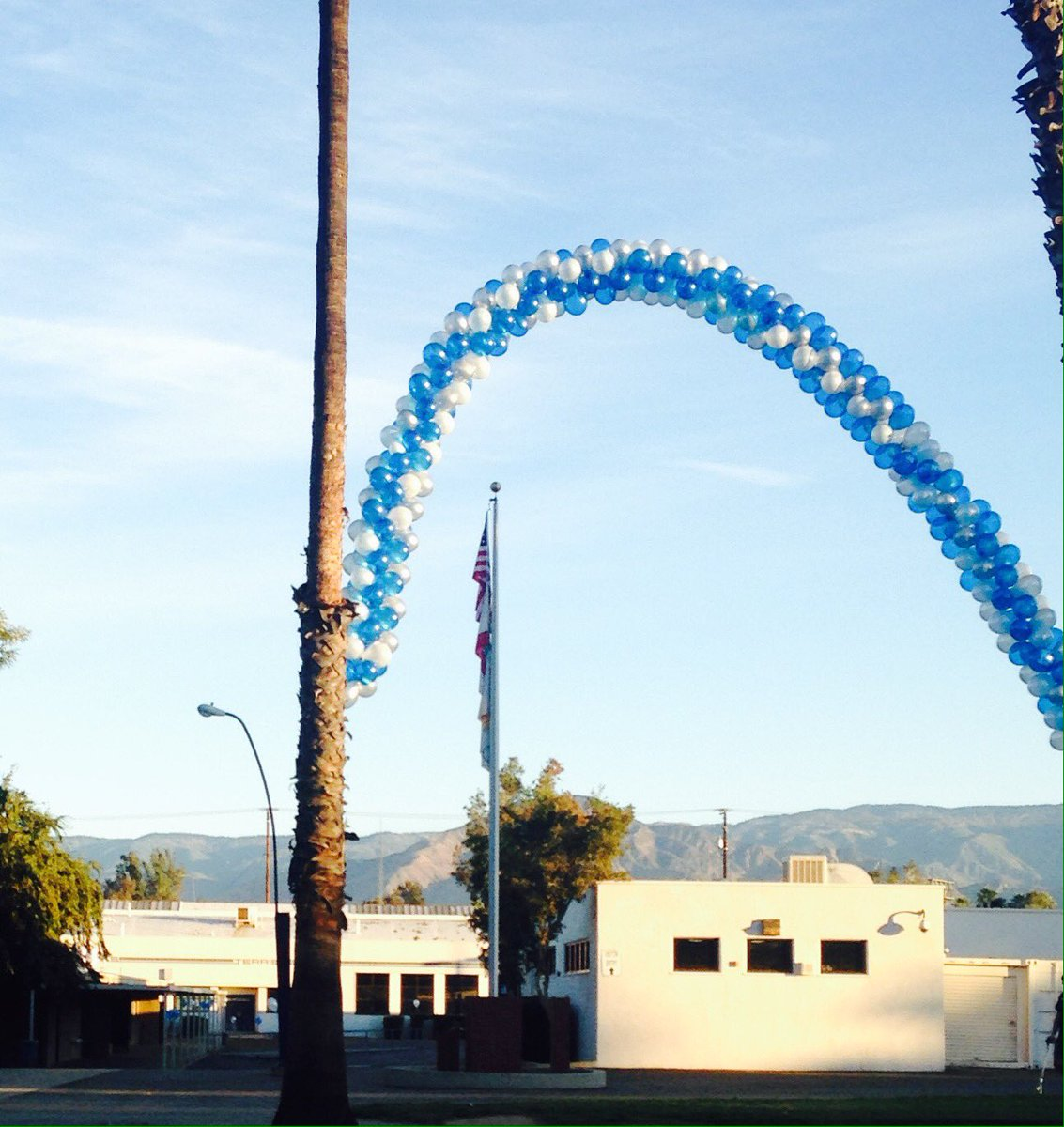 Happy Homecoming to the  Terriers!  #125Strong  #TerrierTown #GoDawgs #TheLongBlueLine #WeLoveRHS #RedlandsHighScool