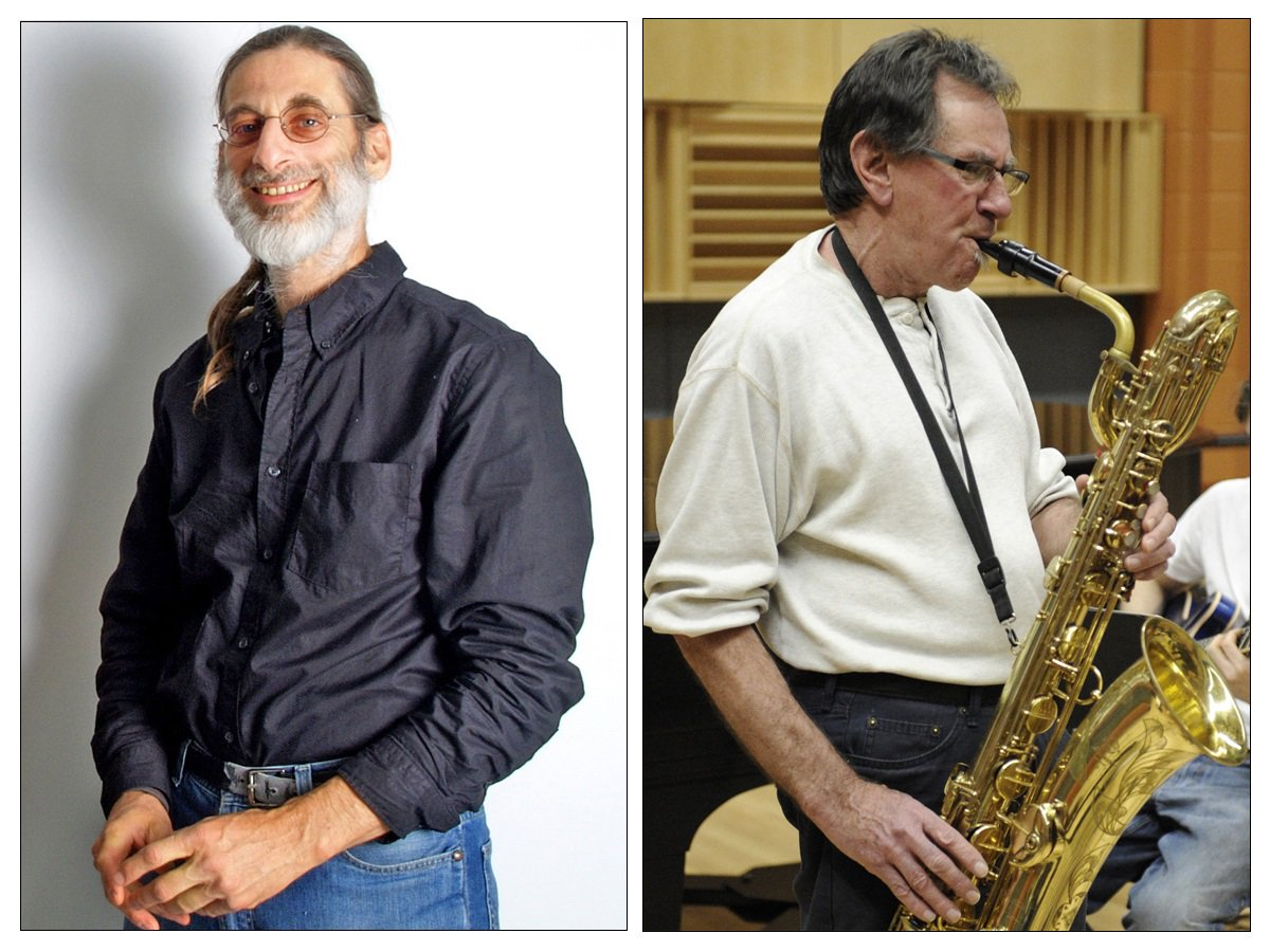 Frank Singer and Bruce Johnstone