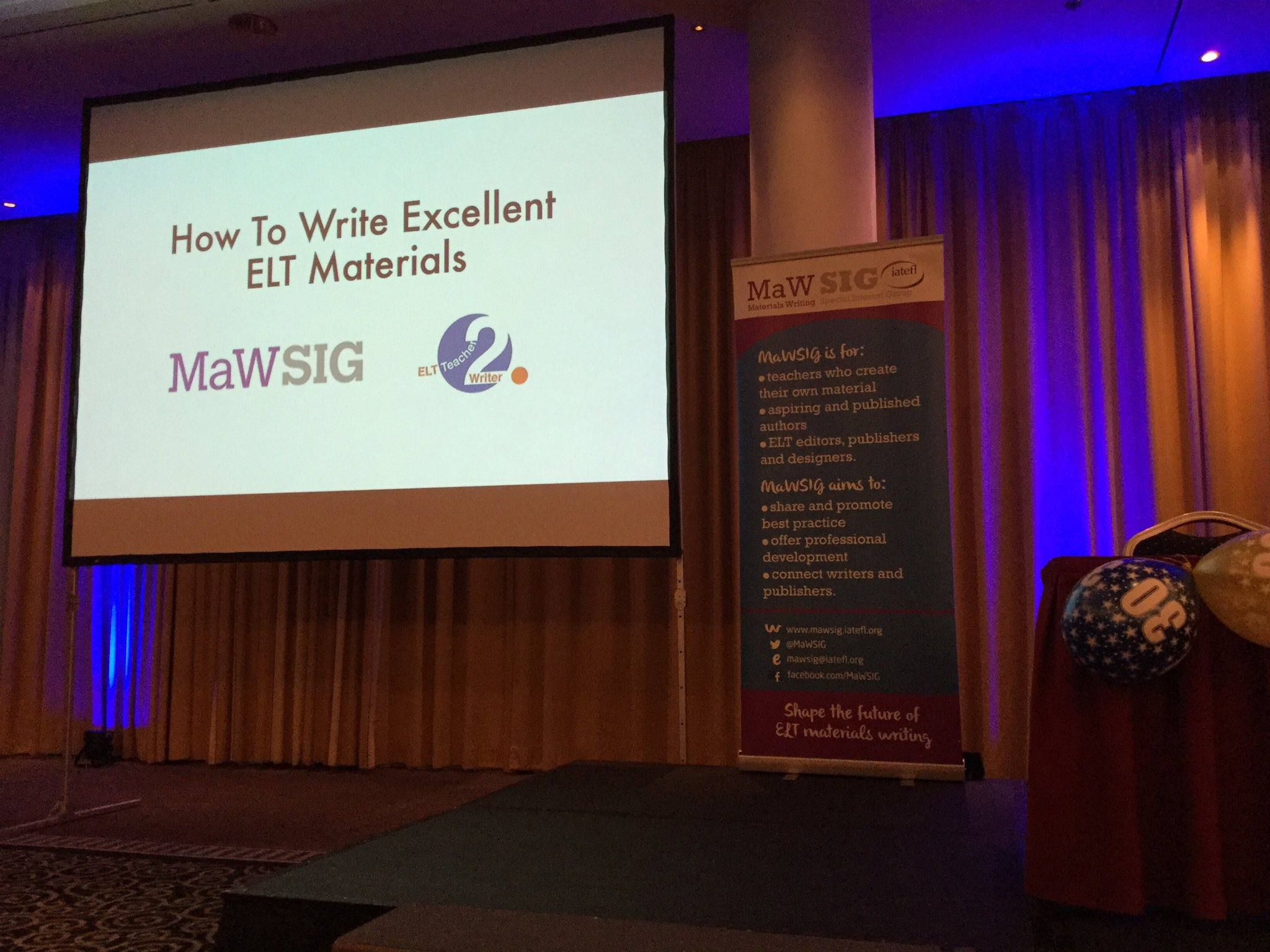 How To Write Excellent #ELT Materials is ready to start! #MaWSIG https://t.co/KTwy6jMlza