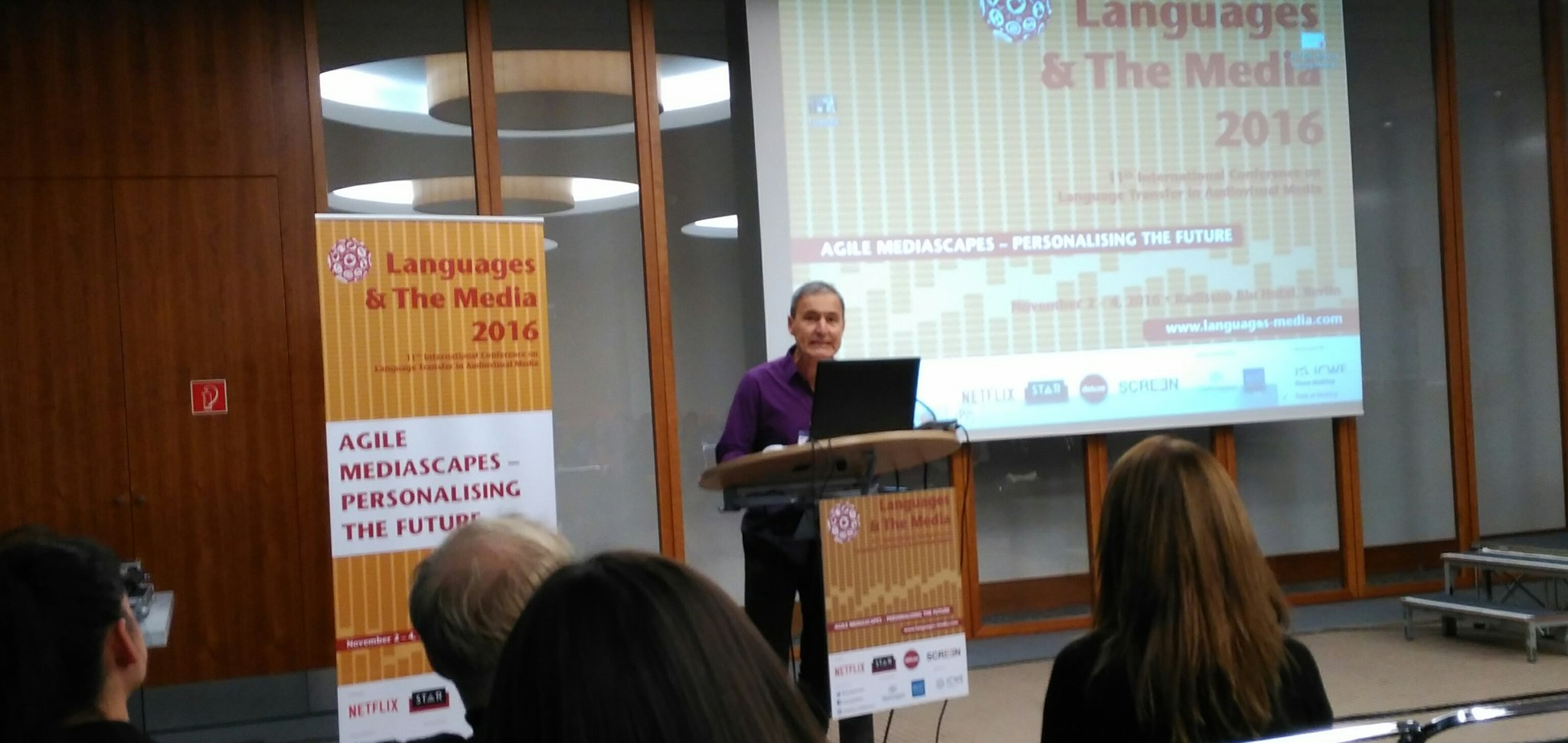 Here is the closing speech of #languagesmedia in Berlin by @JorgeDiazCintas from @CenTraS_UCL. https://t.co/kLMxxEm7yC