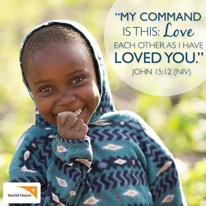 """Love Each Other As I Have Loved You: """"for I Was Hungry And You Gave Me Something To Eat, I Was"""