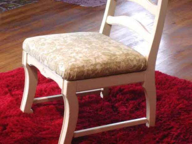 Revamping a chair could be an easy DIY project!