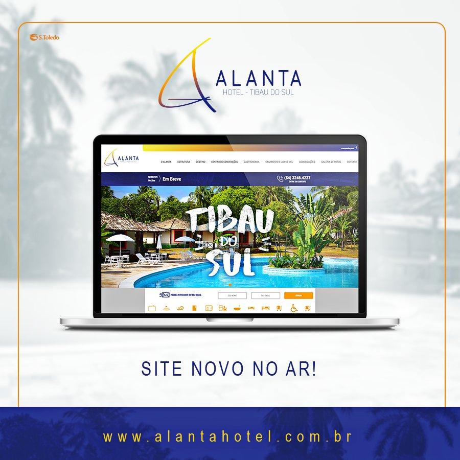 O Alanta chegou em Tibau do Sul e o site já está no ar! Confira tudo sobre esse paraíso: https://t.co/4ncZdcpeqB #Alanta #ClienteStoledo https://t.co/28VNQsWWbT