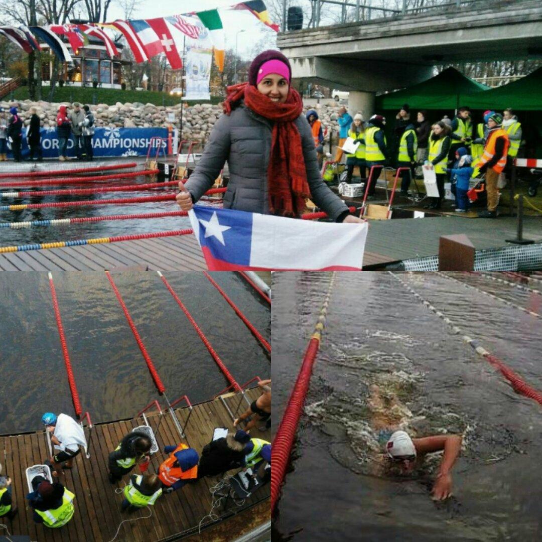 La Campeona Mundial de Aguas Abiertas, @Barbarellah ganó oro en final de 450 mt en Copa del Mundo de Letonia Grande! https://t.co/MAB9cfZdD6