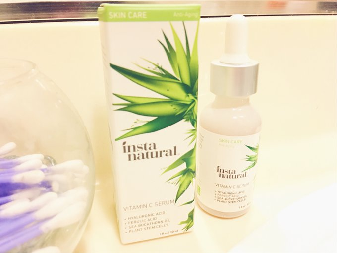 VITAMIN C SERUM: INSTANATURAL REVIEW antiaging serum beauty reviewblog BeautyBlogger