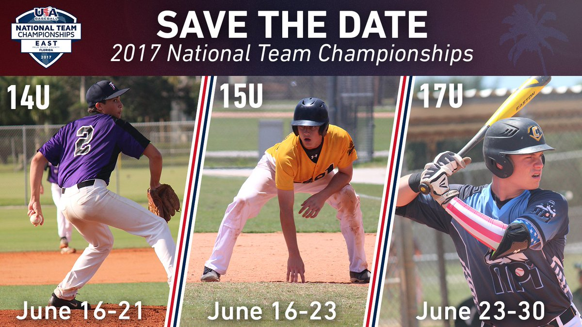 east championships on twitter save the date usabaseball