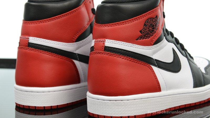 47d534e2efd1b2 Where it all began. A detailed look at the Black Toe Air  Jordan 1 Retro  High OG. Available tomorrow.