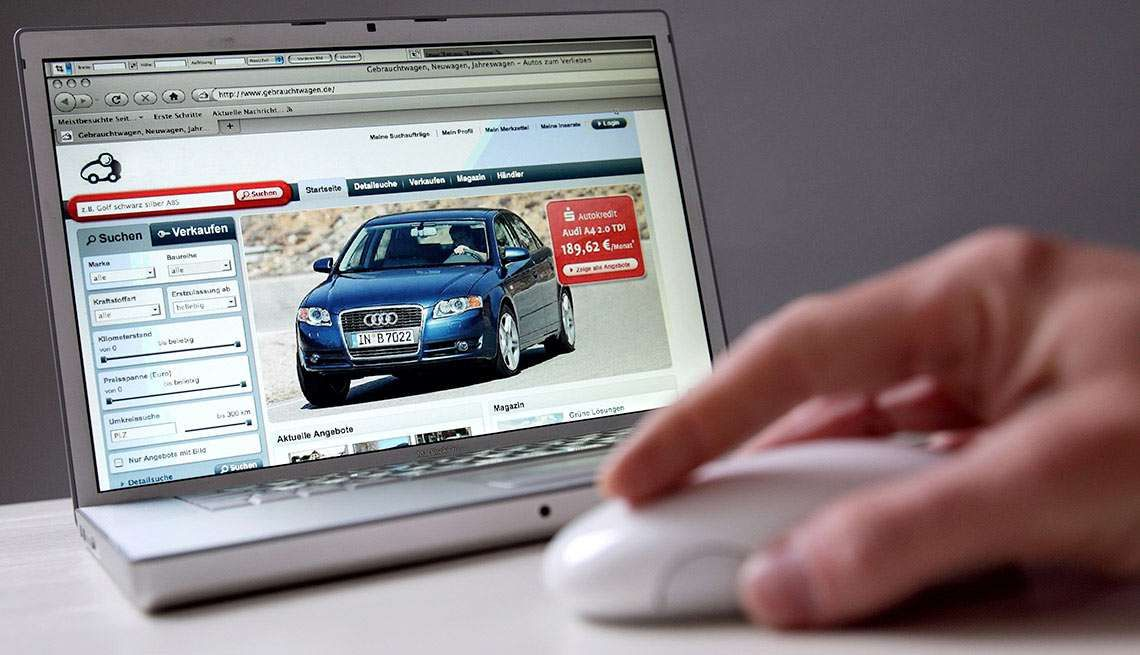 Comprare auto online con lo smartphone