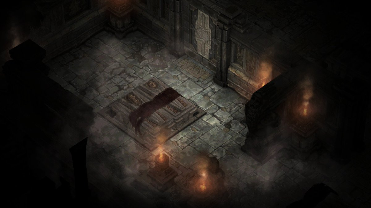 Diablo 1 recreated inside Diablo 3 - Catacombs 1