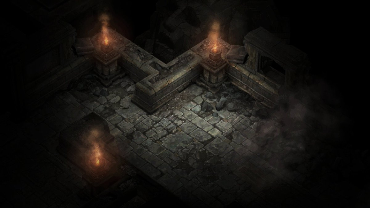 Diablo 1 inside Diablo 3 - catacombs 2