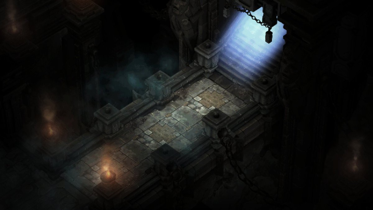 Diablo 1 recreated in Diablo 3 engine