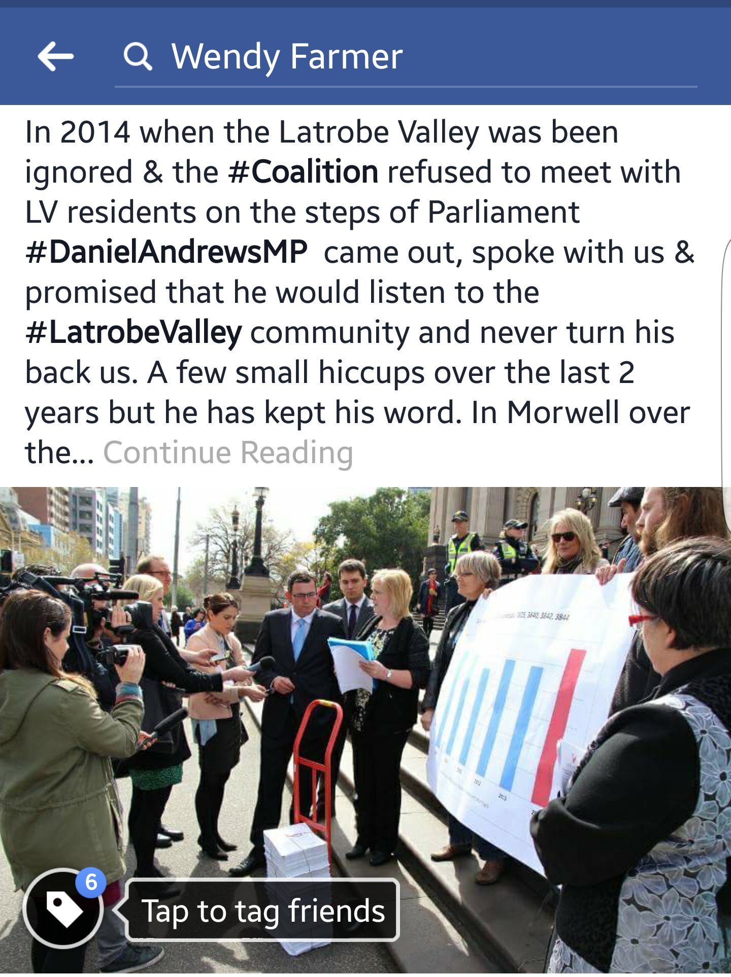 .@DanielAndrewsMP keeping his promise to #LatrobeValley #LVTransition #springst #auspol We need #Coalition to stand up, STOP the blame game. https://t.co/2QZ5EF1wqp