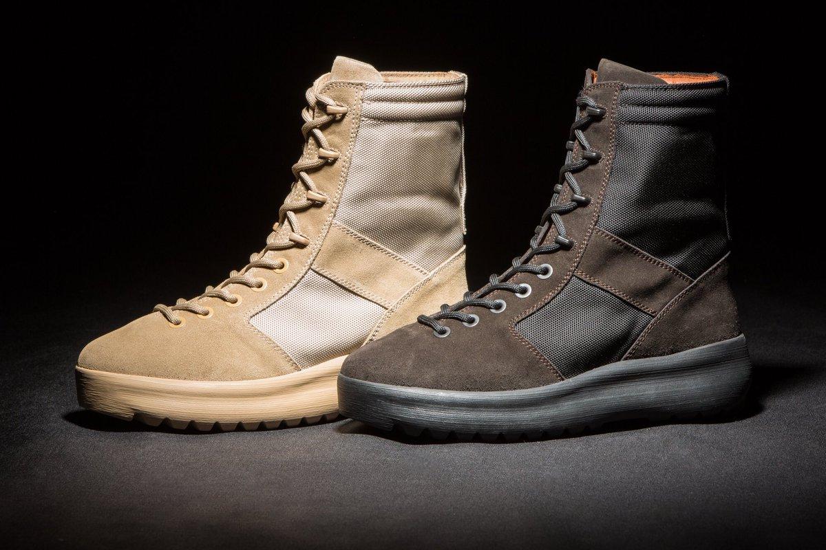 yeezy season 3 combat boots