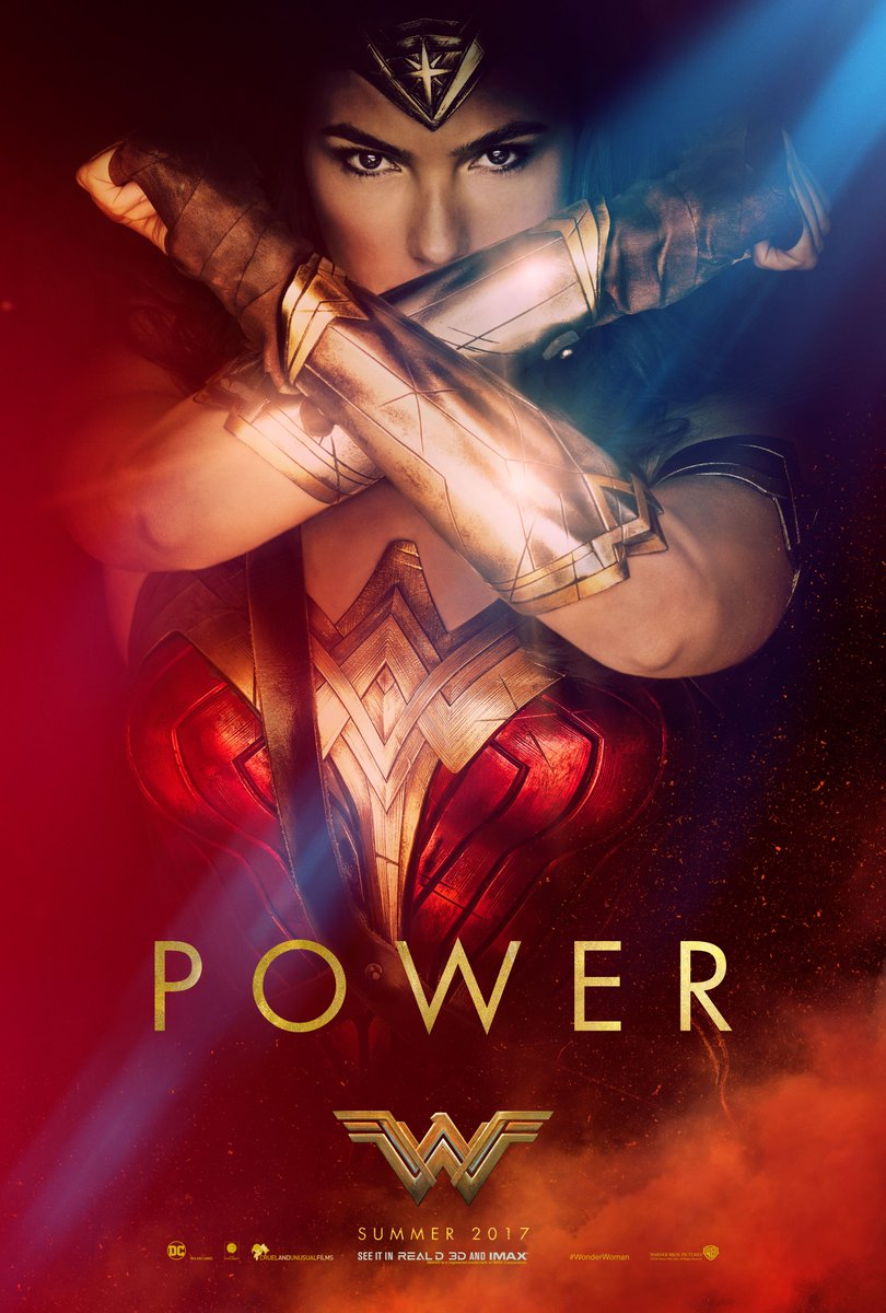 Witness her Power. #WonderWoman https://t.co/W6U5iDj2Tl
