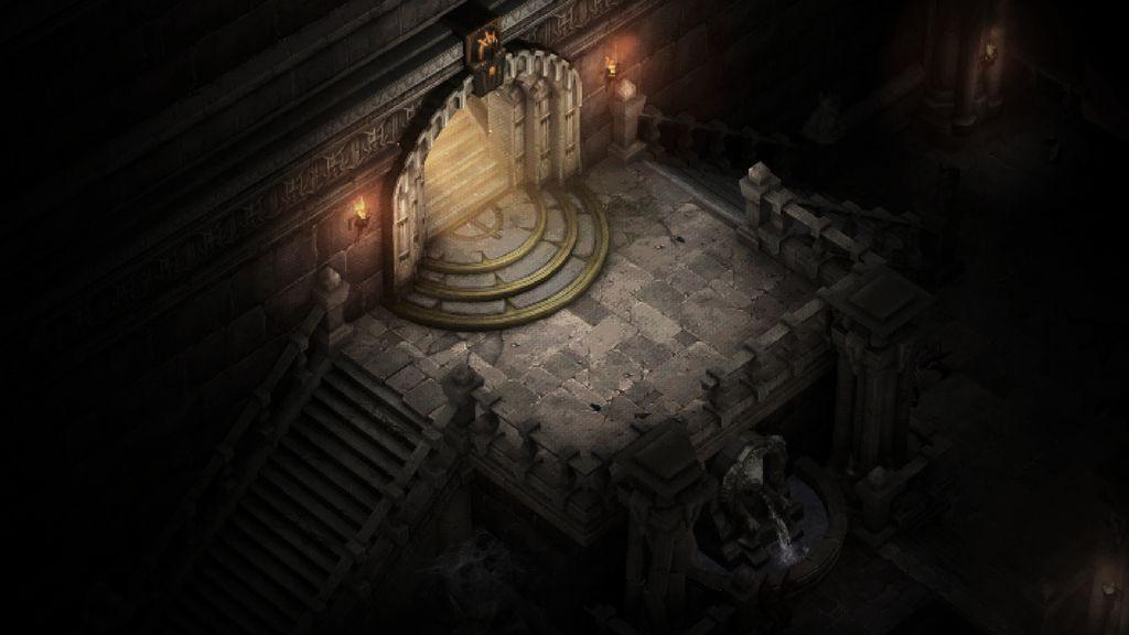 Diablo 1 inside Diablo 3 - catherdral