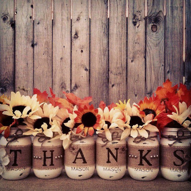 These DIY Thanksgivingdecorations also make great homemade gifts