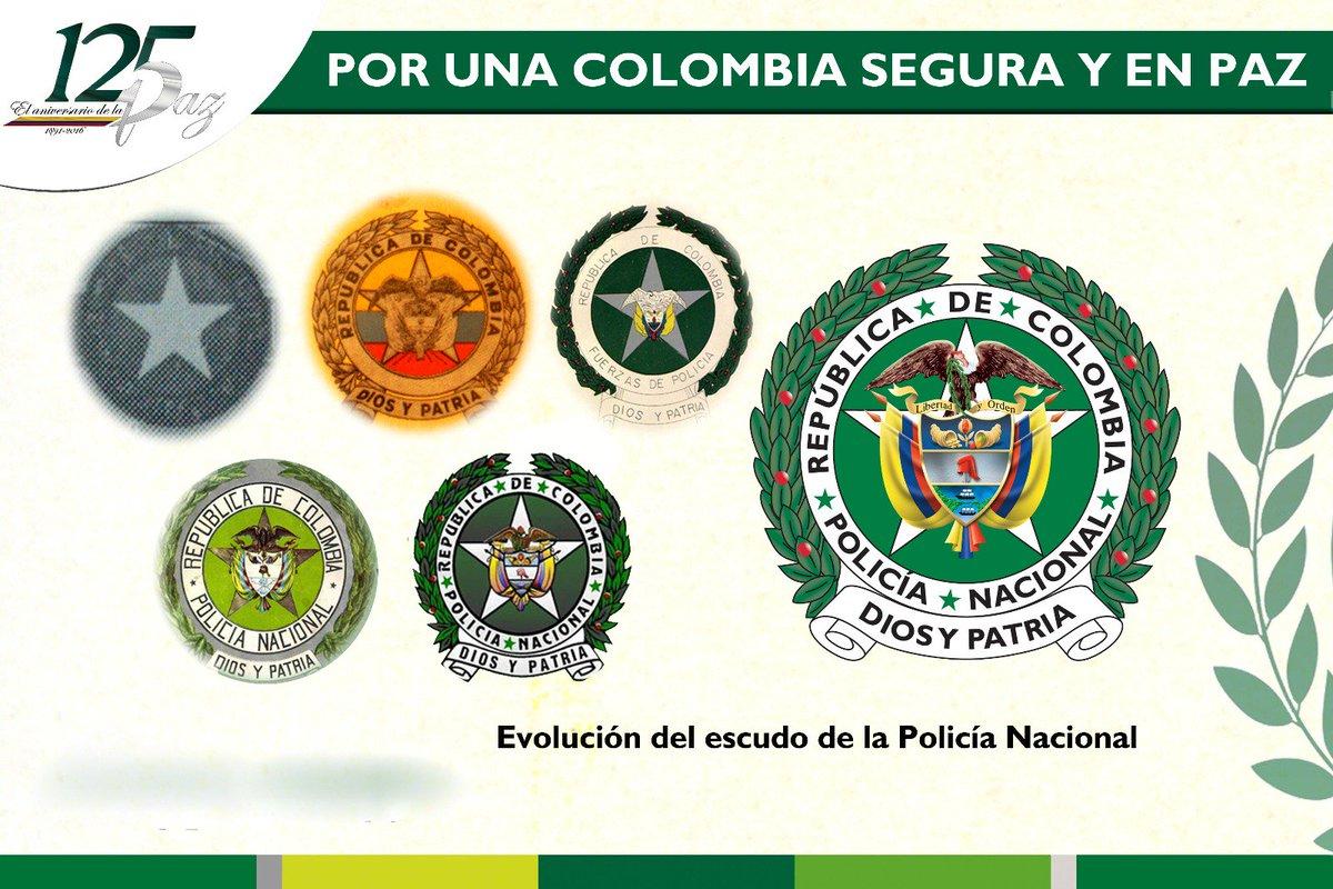 Policia De Colombia On Twitter Sabiasque En 1957 Se Instituye El Escudo Y La Bandera De Nuestra Policia Nacional 125anos