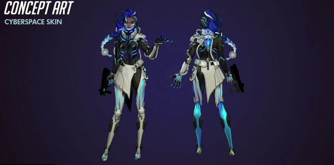 Sombra had two awesome legendary skins previewed in the Overwatch panel earlier today. https://t.co/3EqV7ULZCU https://t.co/BZkeAOAHqS
