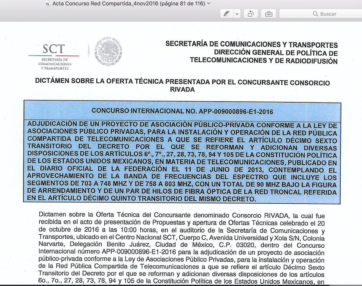 Fernando Borjón on Twitter: En el Acta está el escrito que Rivada ...