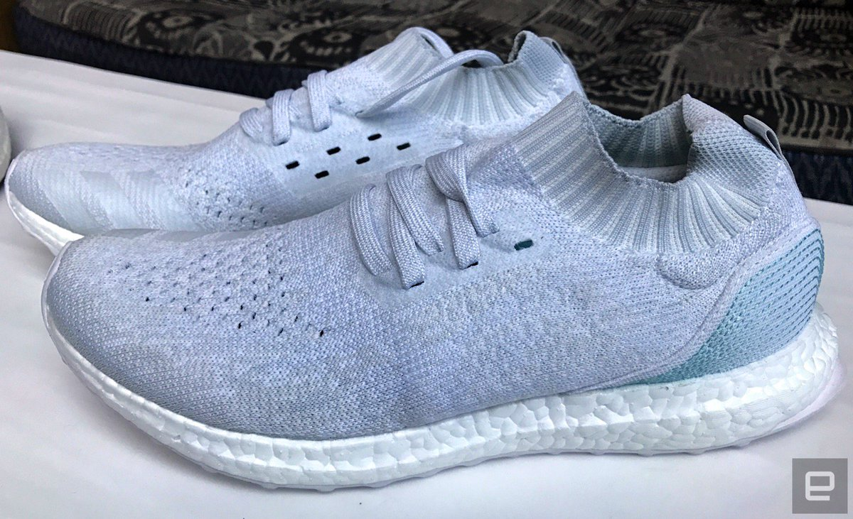 67bfd2f53 Our exclusive look at Adidas' first consumer shoe made from recycled ocean  plastic https://t.co/7wBDE6hQa8 https://t.co/csuK6WirtJ