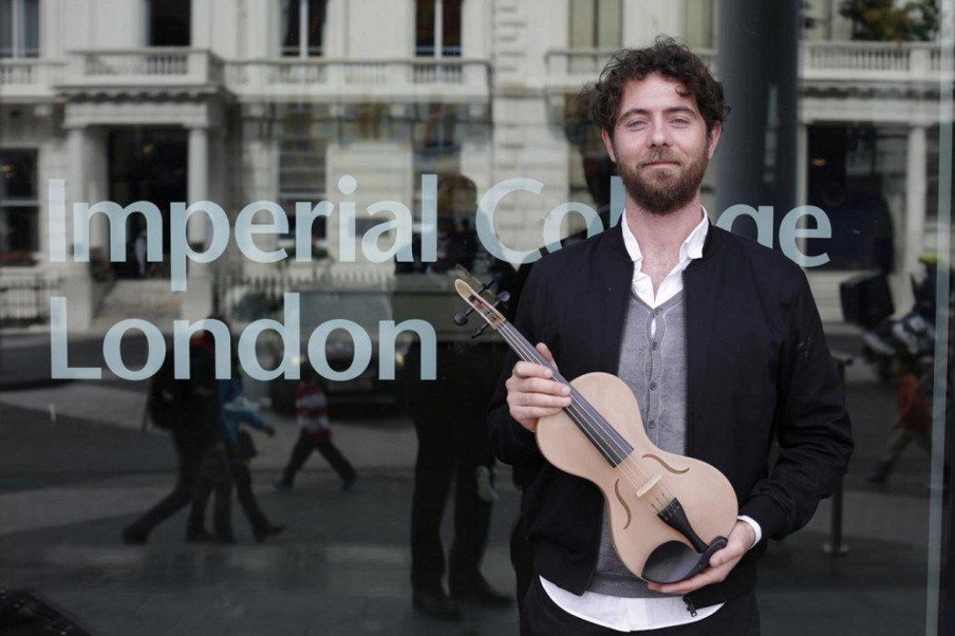 FIM Musica, strumenti nuovi curiosi hi-tech: violino di seta, big piano e aerodrums